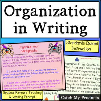Organization in Writing in Power Point