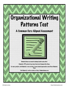 Organizational Writing Patterns Test