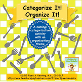 Categorize It! Organize It! {a word retrieval game}