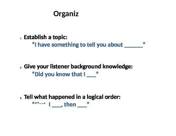 Organized Expression