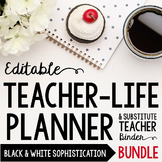 Organizer AND Substitute Binder Bundle for Upper Grades: B