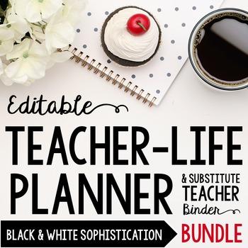 Organizer AND Substitute Binder Bundle for Upper Grades: B