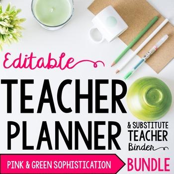 Organizer AND Substitute Binder Bundle for Upper Grades: G