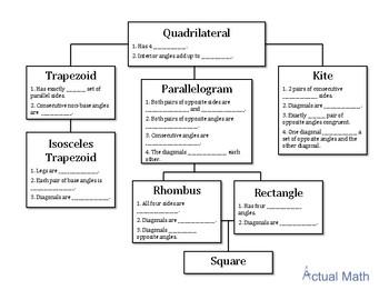Organizer - Quadrilaterals