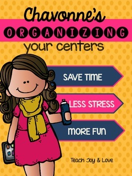 Organizing Your Centers {FREEBIE}