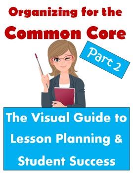 Organizing for the Common Core: Visual Guide to Lesson Del