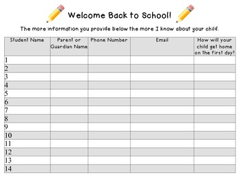 FREE Orientation Sign In Sheet