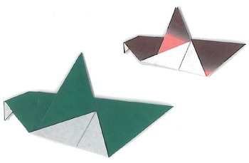 Origami Bird 1 and 2