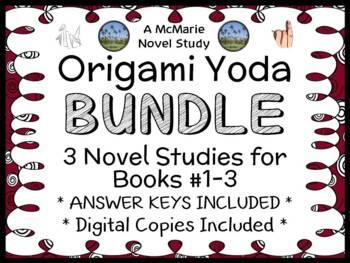 Origami Yoda Bundle (Tom Angelberger) 3 Novel Studies : Yo
