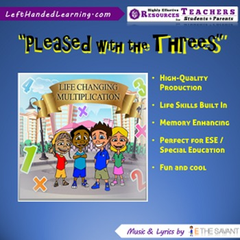 "Original Multiplication Songs - ""Pleased with the Threes"""