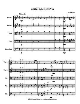 Original Piece: CASTLE RISING - for Beginning Orchestra