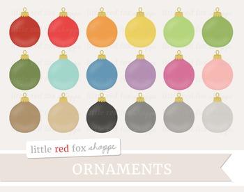 Ornament Clipart; Christmas