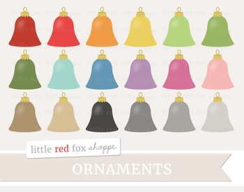 Ornament Clipart; Christmas