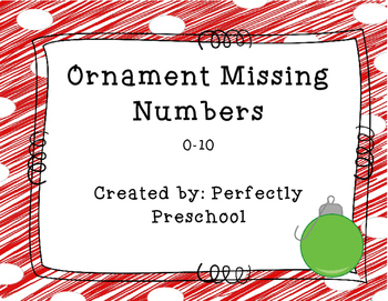 Ornament Missing Numbers 0-10