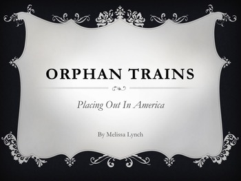 Orphan Trains - Placing Out in America