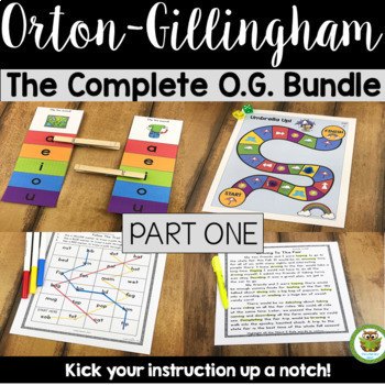 The Complete O.G. Multisensory Phonics Activities Orton- G