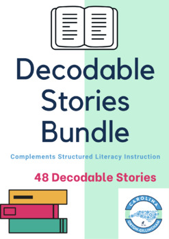 19 Decodable Phonics & Spelling Stories- Complements Orton