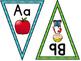 Orton-Gillingham Phonogram Pennant Banner