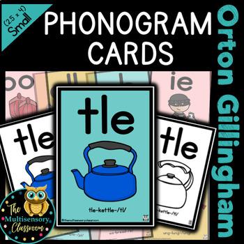 Orton Gillingham (extreme mini) sound cards