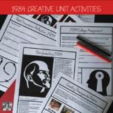 Orwell's 1984, Activity Bundle, High School ELA