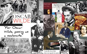 Oscar Wilde ~ Queensberry Libel ~ Sodomy Crime Trials ~ Ga