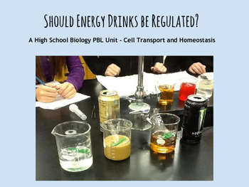 Osmosis Diffusion PBL - Should Energy Drinks Be Regulated?