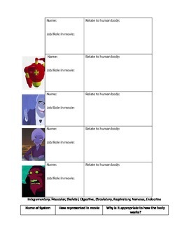 osmosis jones worksheet. Black Bedroom Furniture Sets. Home Design Ideas