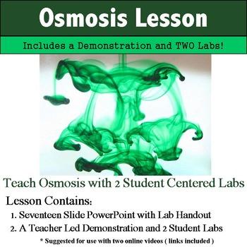 Osmosis and Diffusion Labs and Notes