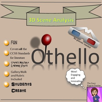 Othello: 3-D Scene Analysis Project Diorama: Standards Based
