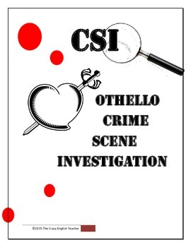 Othello: CSI Classroom Investigation and Murder Board