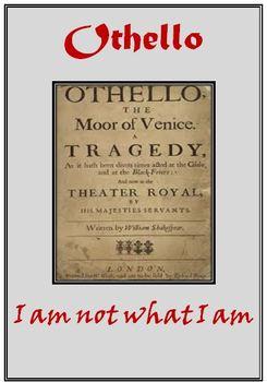 Othello Complete Unit Lesson Plan