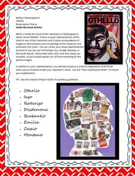 Othello Post-Reading Activity or Alternative Assessment