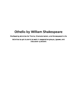 Othello Pre-Reading Packet
