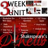William Shakespeare's Othello: Common Core Curriculum Alig