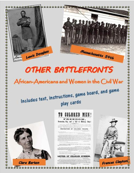 Other Battlefronts game - African Americans & women in the