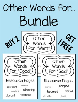 Other Words for Bundle