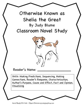 Otherwise Known as Shelia the Great Novel Study