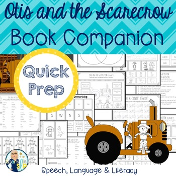 Otis and the Scarecrow Print and Go Speech and Language Bo