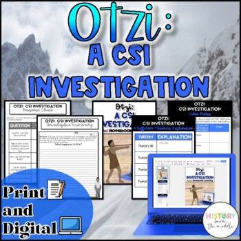 Otzi the Iceman:  A CSI Investigative Activity {NO PREP}