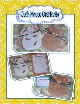 Ouch Mouse Craftivity using ou words ~ FREEBIE Craft