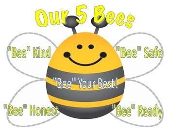 Our 5 Bees- Classroom Rules
