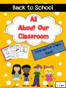 Our Classroom Book {All About Me, Procedures, Routines...}
