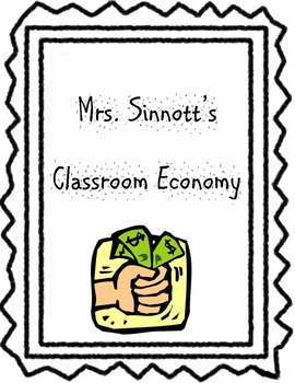 Classroom Economy with Money, Classroom Jobs, and Budget Sheets