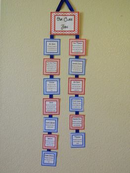 Our Classroom Jobs Chart