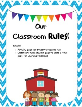 Our Classroom RULES!