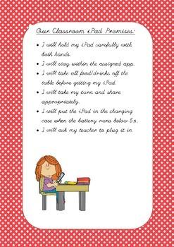 Our Classroom iPad Rules