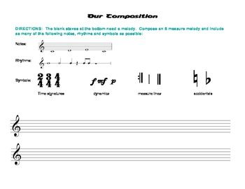 Our Composition, Level 3