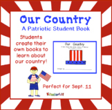 Our Country - a Patriotic Student Book