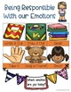Being Responsible With Our Emotions: Ideas and Activities Bundle