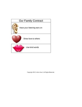 Our Family Commandments